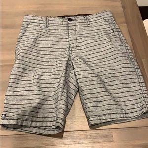 Boys Micros striped shorts